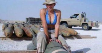 Девушки служащие в армии