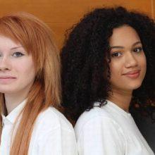 Как вы думаете что общего у этих двух девушек?