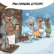 Иллюстрации Bird Born о русской душе (10 шт)