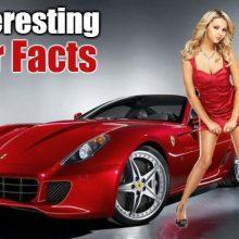 10 интересных фактов об автомобилях