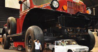 Самые большие и необычные джипы в мире!