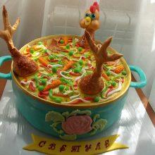 Прикольные торты на день рождения (12 фото)