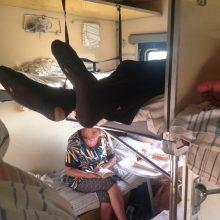 Прикольные фото в поезде. (11 фото)