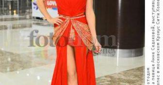 Платья Анны Седоковой (11 фото)
