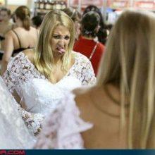 Прикольные фото невест (22 фото)