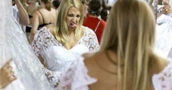 Прикольные фото невест. (12 фото)