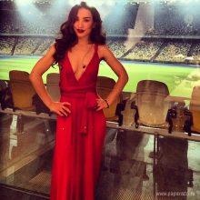 Платья Виктории Дайнеко. (11 фото)