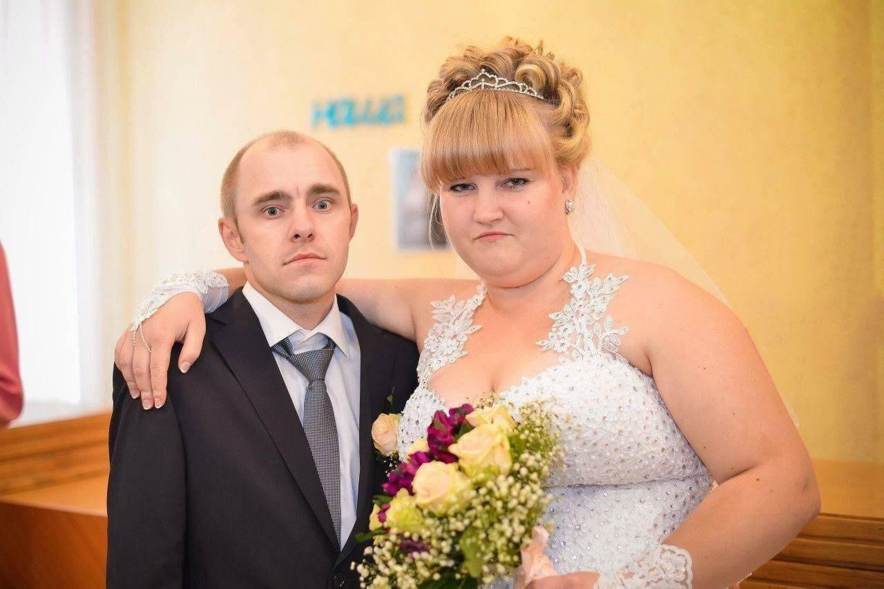 фото русских свадеб она так