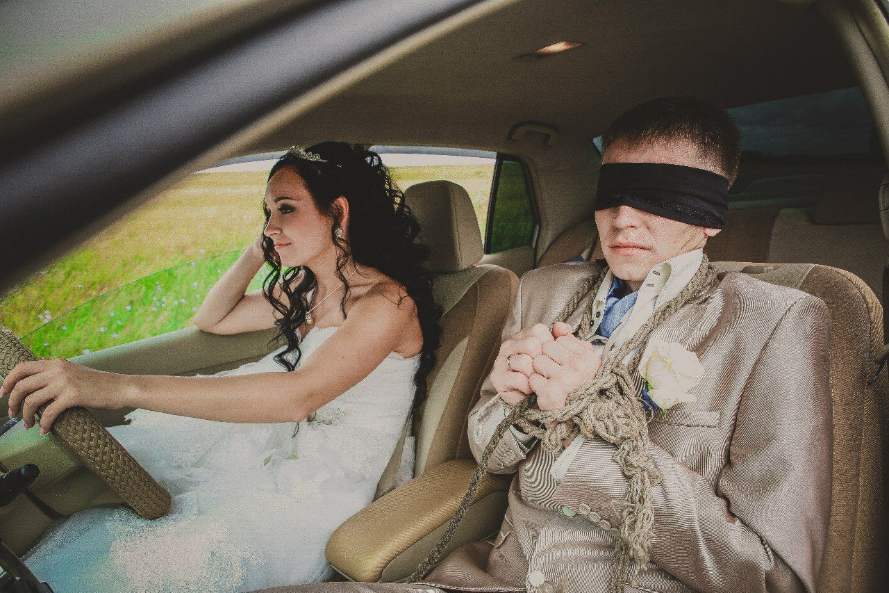 Смешные фото про невест