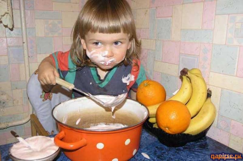Прикольные фото маленьких детей (46 фото)