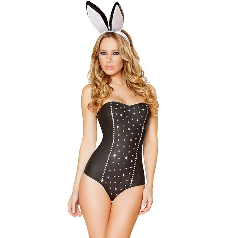 Mulheres-preto-sexy-Halloween-trajes-do-coelho-desempenho-cantor-para-loja-Online