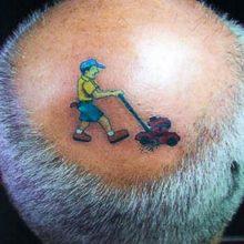 Прикольные татуировки. (11 фото)