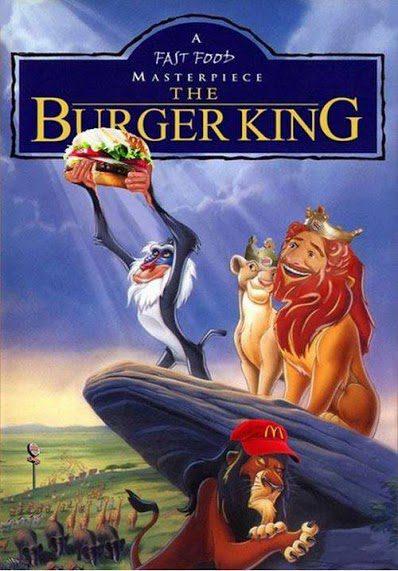 Burger-King-король-лев-мультики-постер-712169
