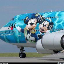 Прикольно раскрашенные самолеты. (11 фото)
