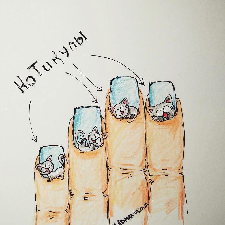 Зимний маникюр на нарощенных ногтях фото вашему