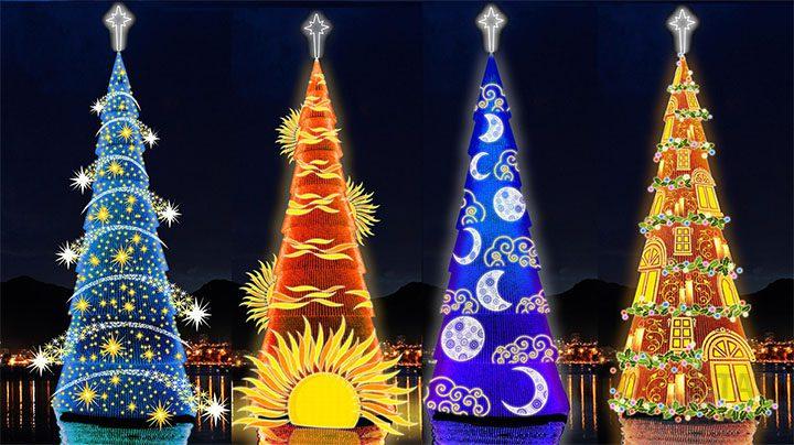 Интересные новогодние елки