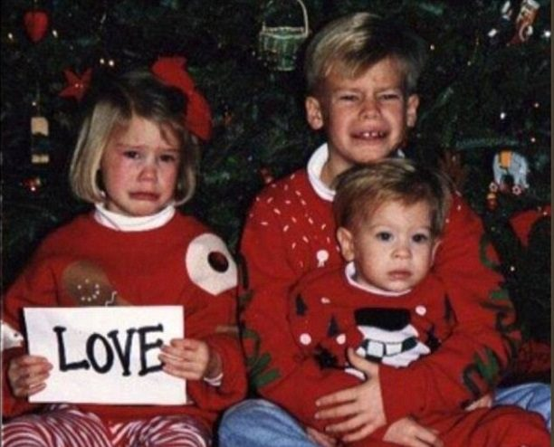 Дети недовольны в новый год