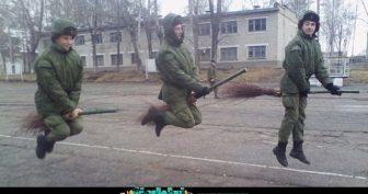 Приколы про армию (21 фото)