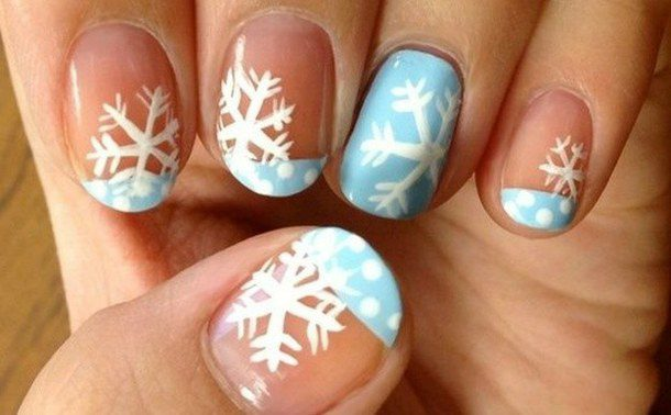 christmas-nailart-nails-snowflake-favim-com-2187657