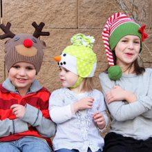 Картинки новогодних шапок (35 фото)