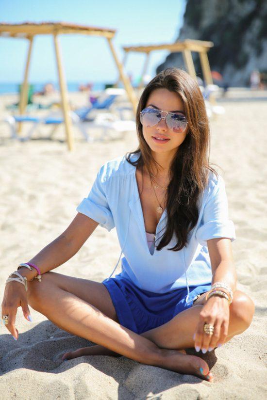 Фото девушек на пляже