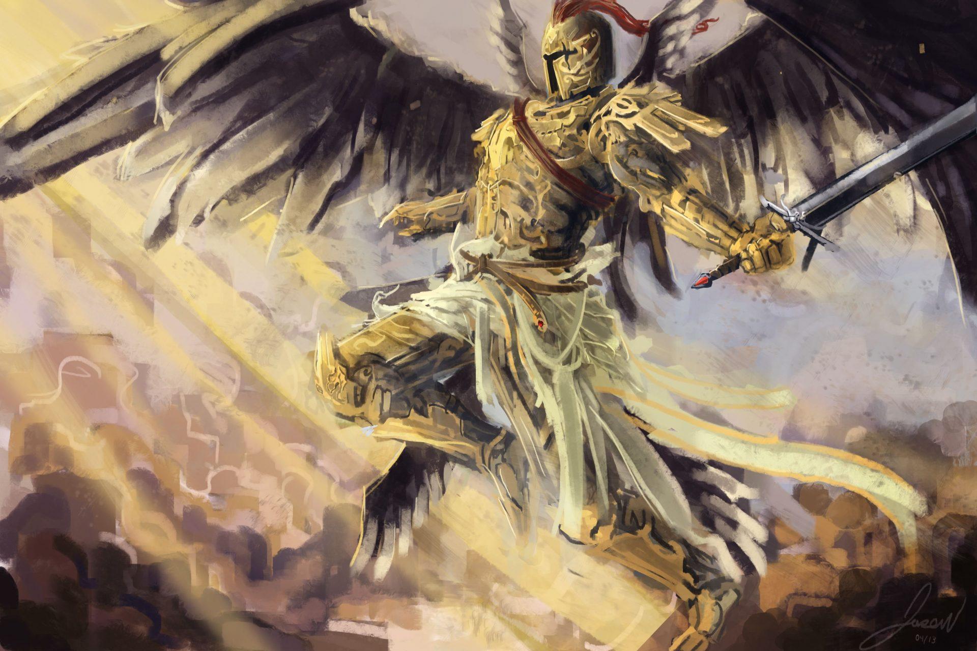 эпичные картинки ангелов заделка