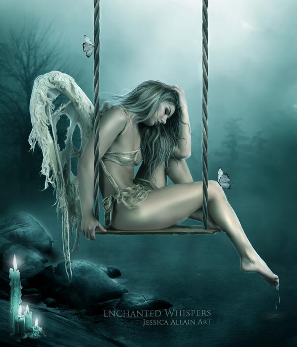 Сексуальные девушки с крыльями ангела