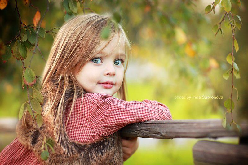 Красивое фото детей