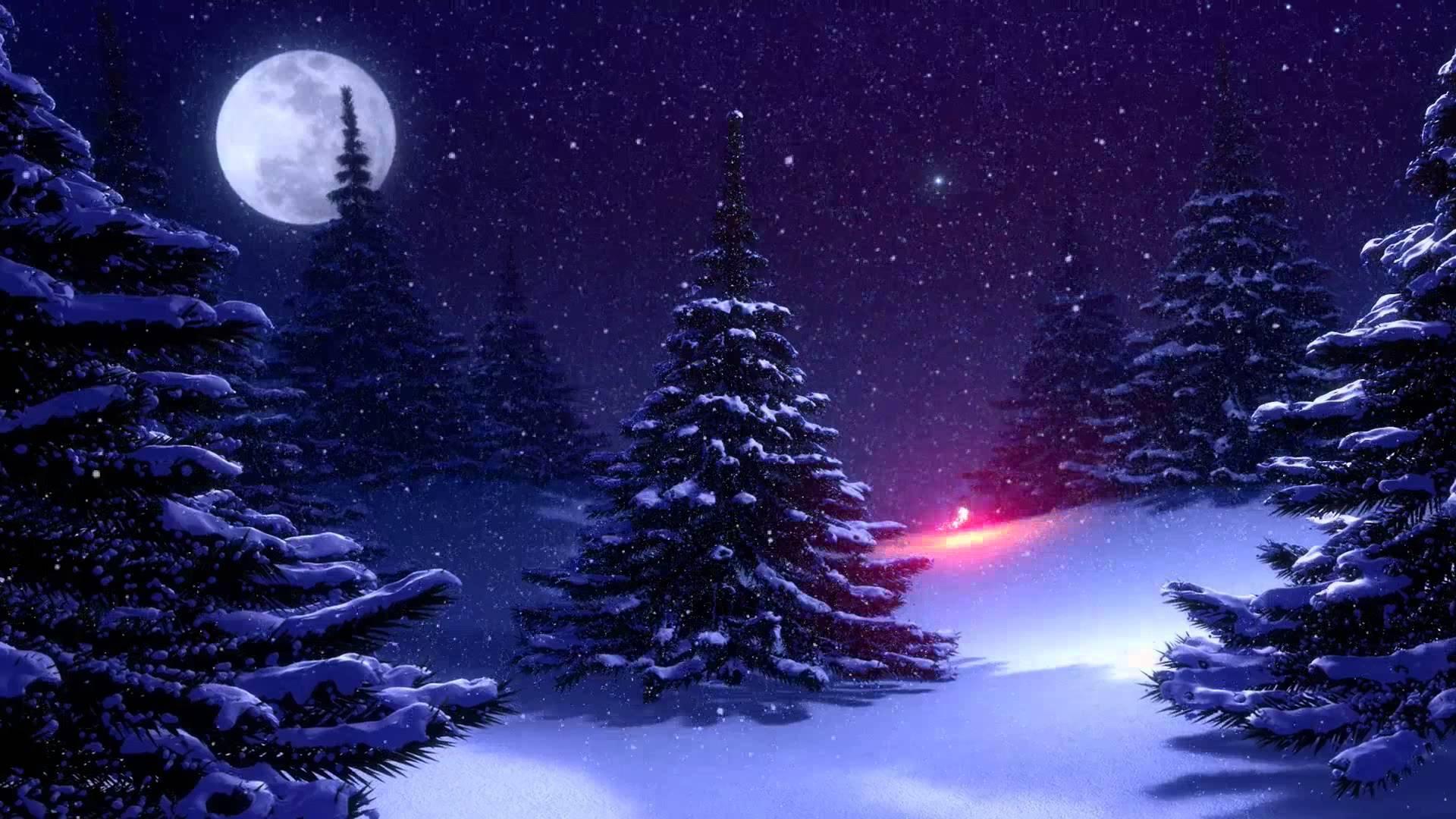 Картинки зимний лес скачать