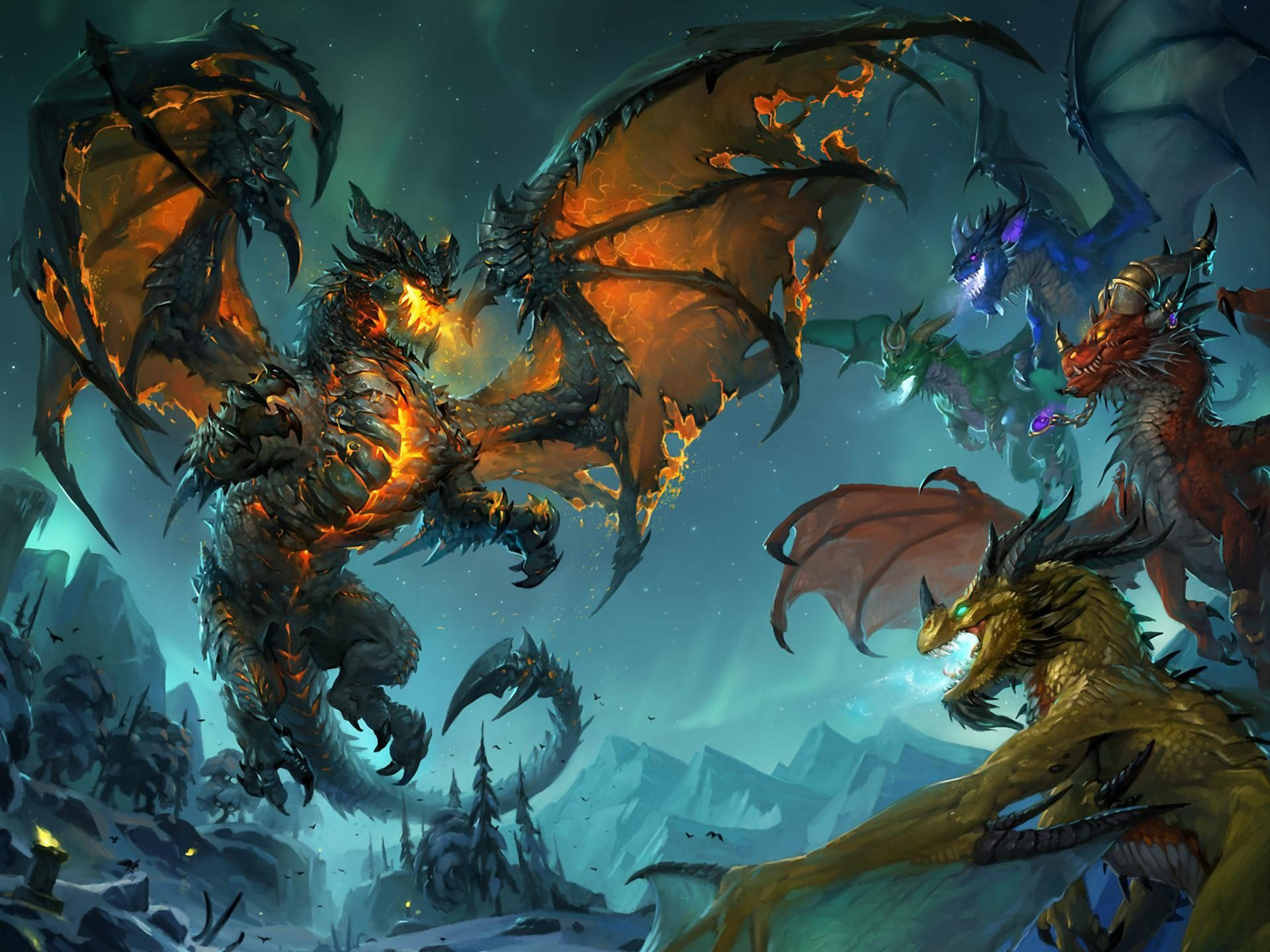Девочка и дракон   1440x1920