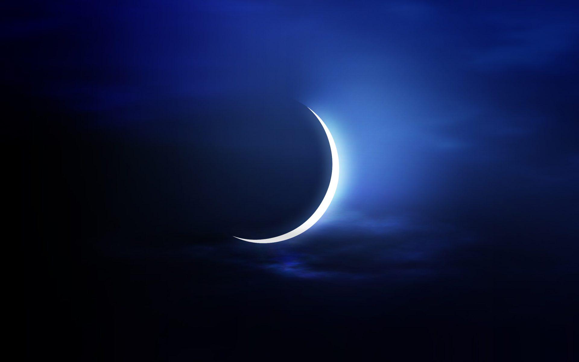 Море ночь луна