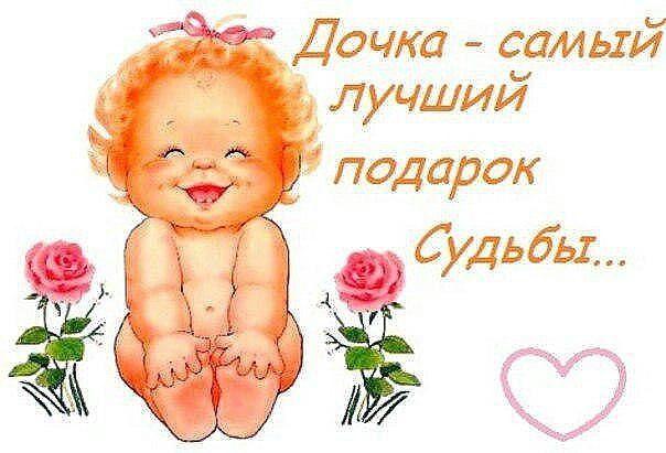 Поздравление маме на день рождения дочурки