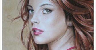 Картинки красивые девушки нарисованные (35 фото)