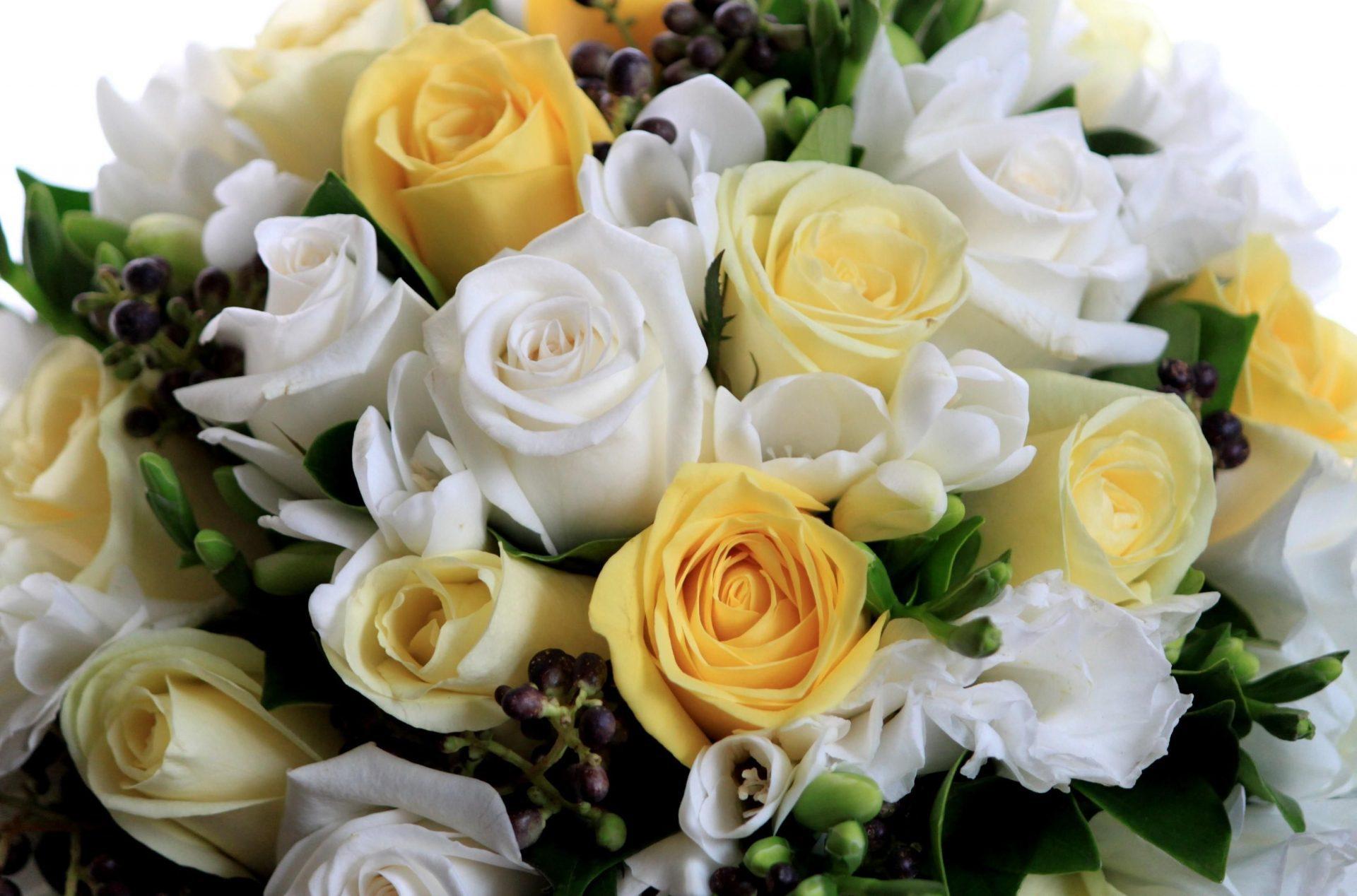 Шикарные букеты белых роз с добрым утром фото в хорошем качестве — 4