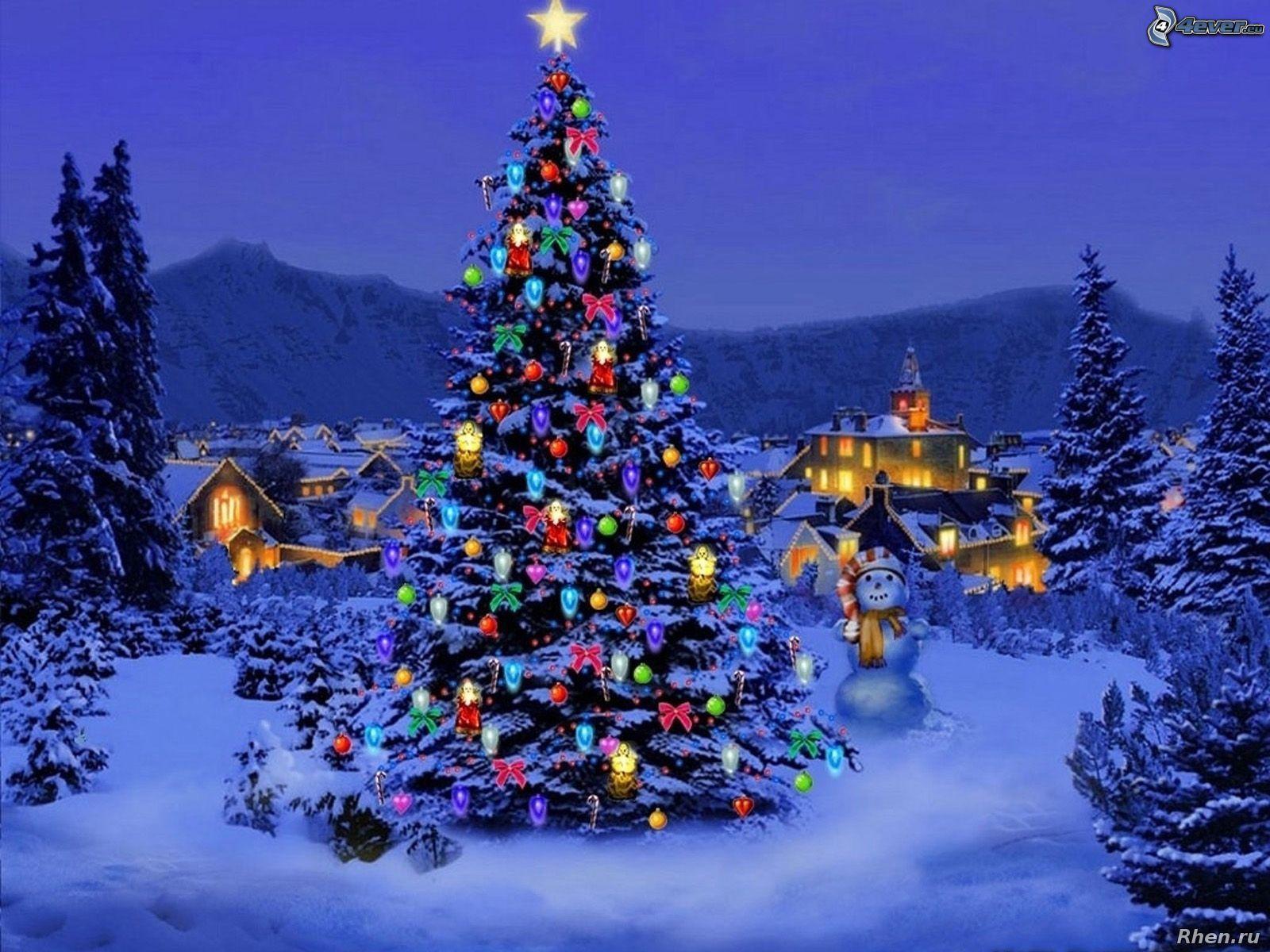 древности красивые картинки елок новогодних алиот