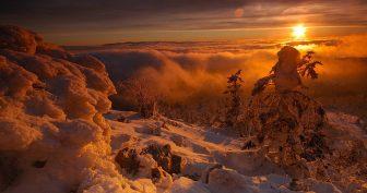 Картинки красивый рассвет (37 фото)