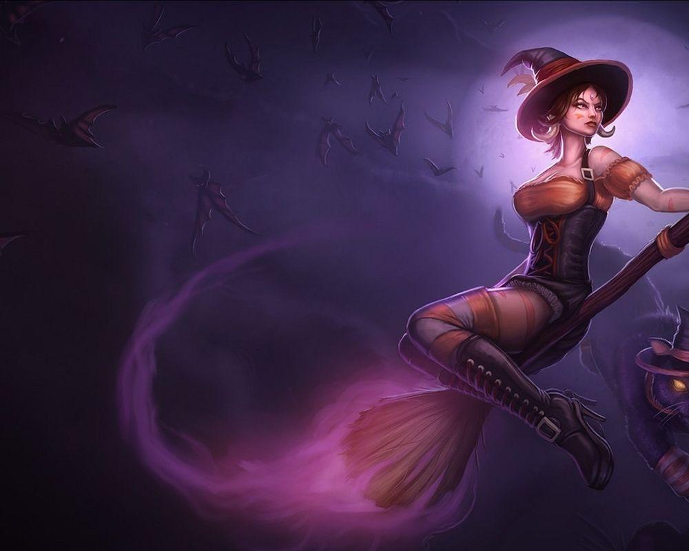 Рисунки супер сексуальных девушек ведьм