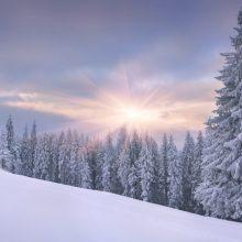 Картинки красивый снег (35 фото)