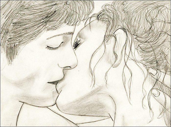 Очень красивые картинки карандашом про любовь