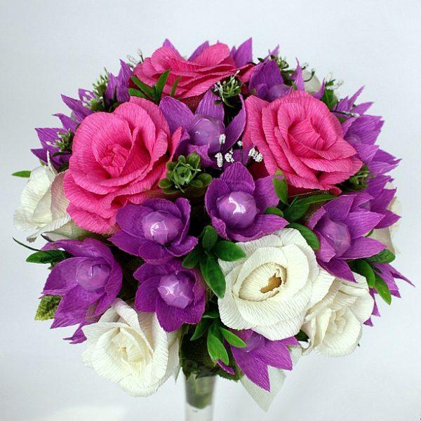 Букет цветов розы розовые фото