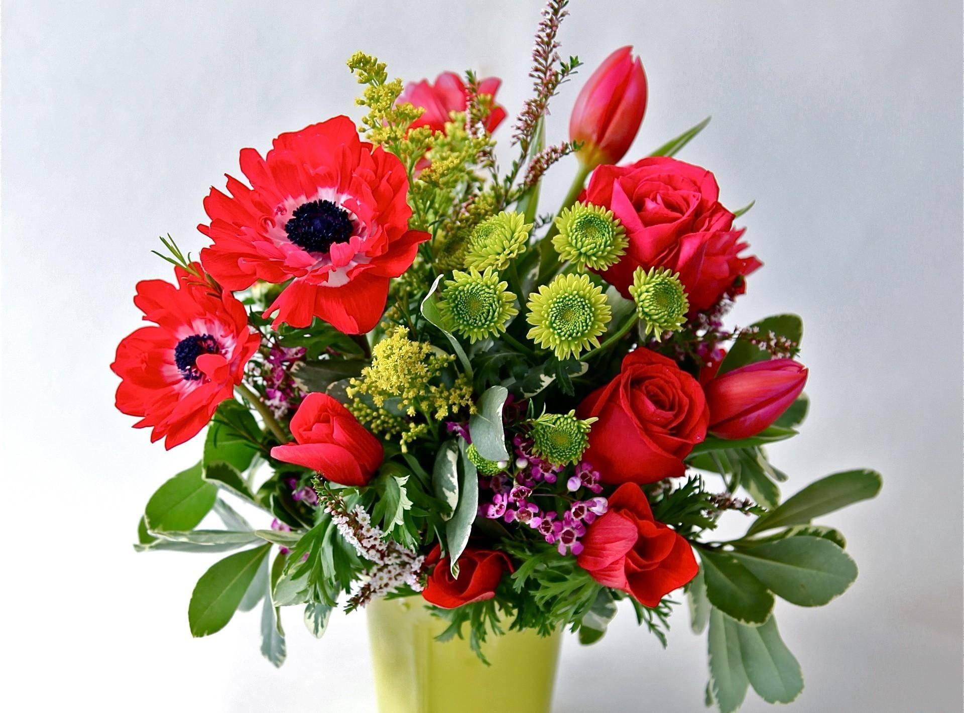 Цветы букет красивые фото