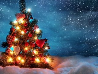 обои на рабочий стол 1920х1080 зима новый год рождество 2020 как взять взаймы на теле2 50