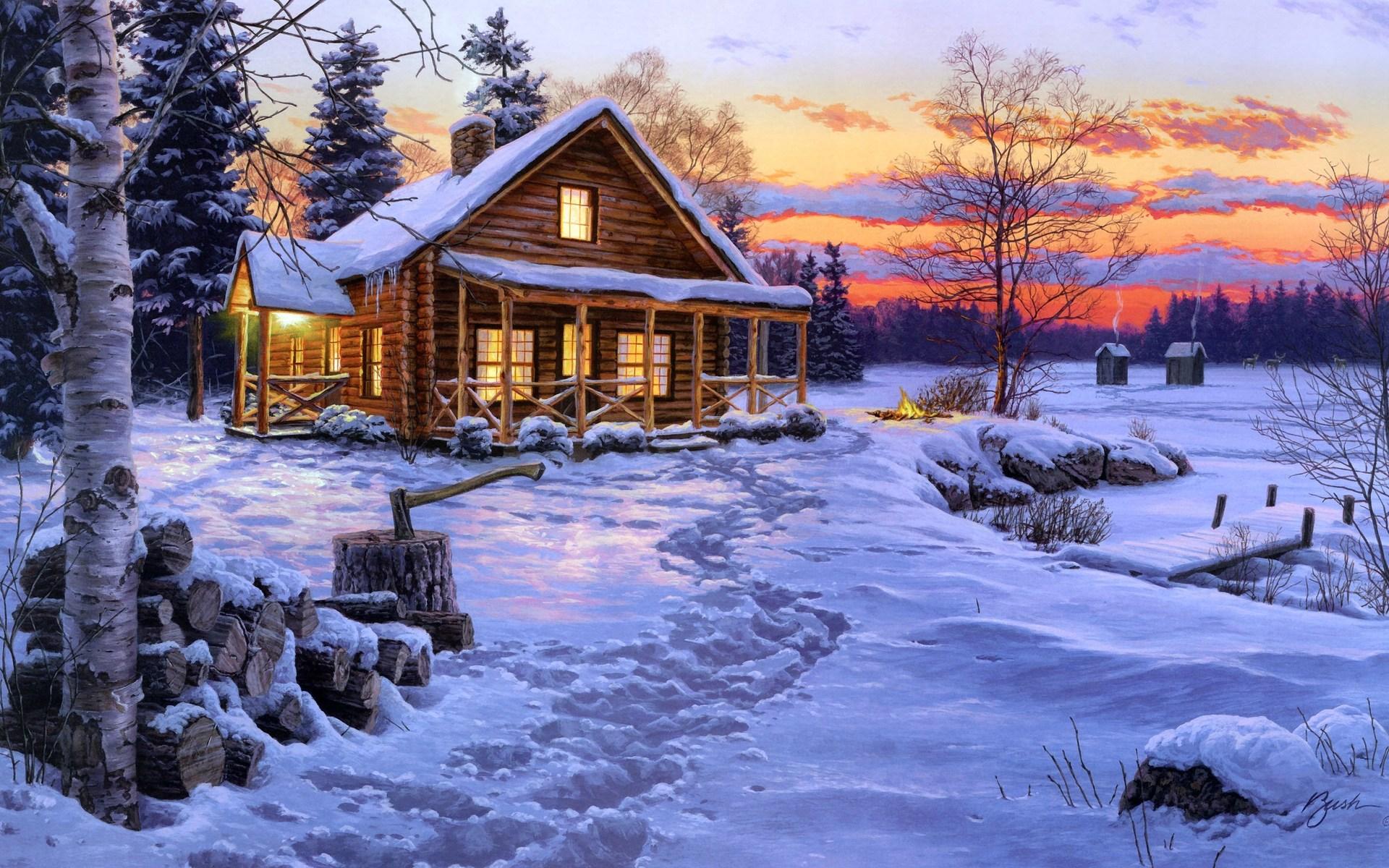 еще красивые картинки про новый год и зиму будущей супругой
