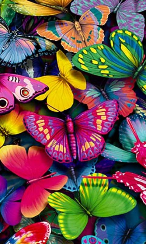 Обои Бабочки На Телефон Андроид