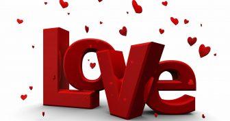 Красивые картинки о любви с сердечками (35 фото)