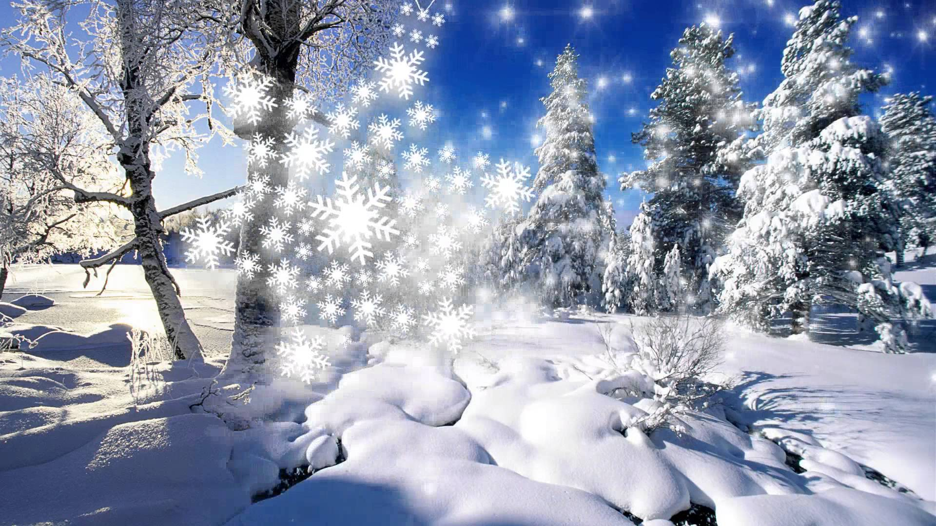Волшебный снег картинки