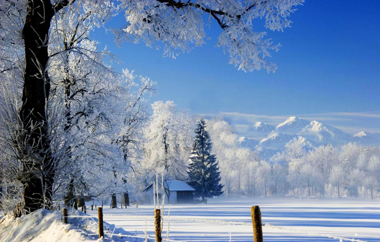 Зима в хорошем разрешении картинки