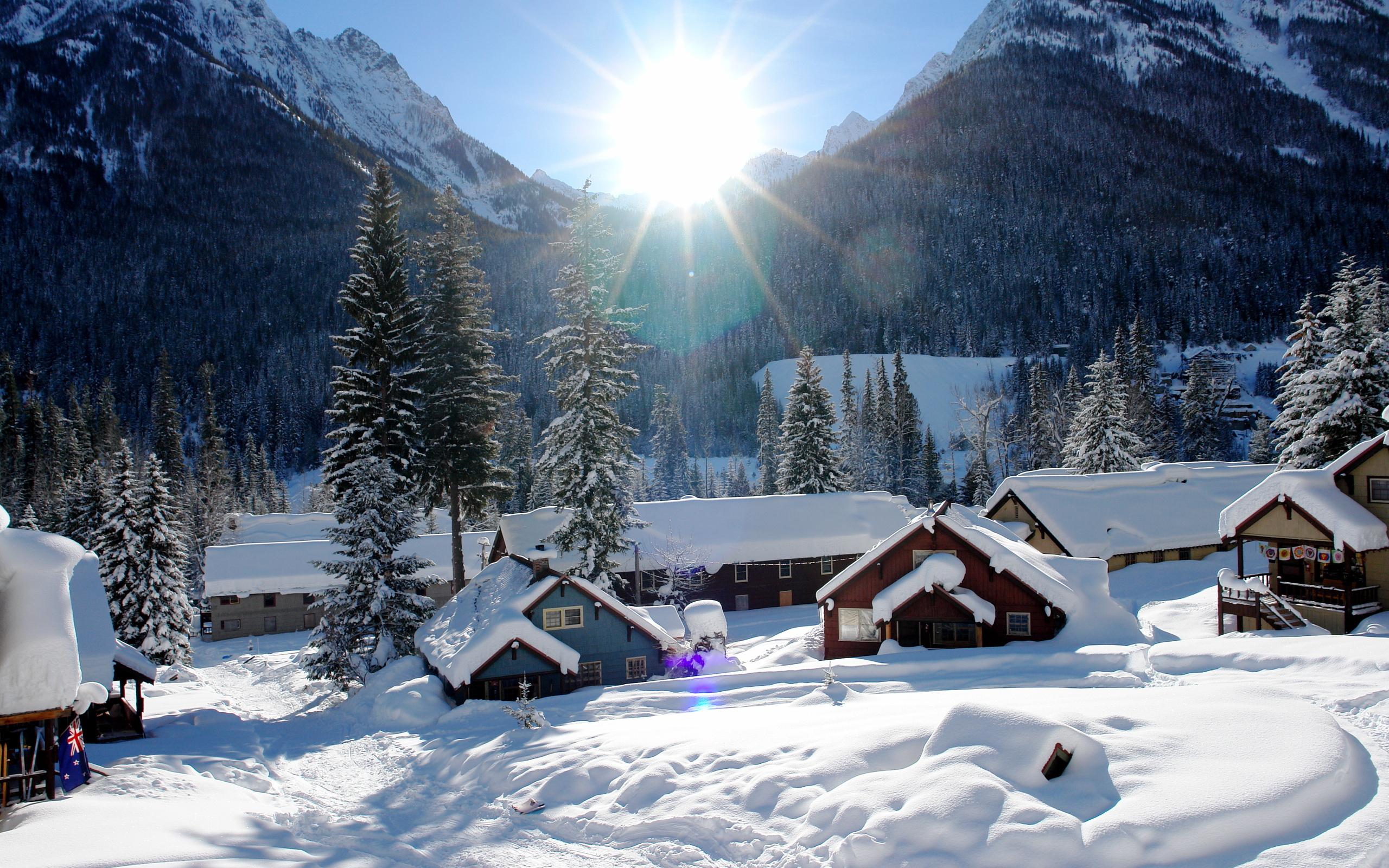 Красивые картинки Доброе зимнее утро!