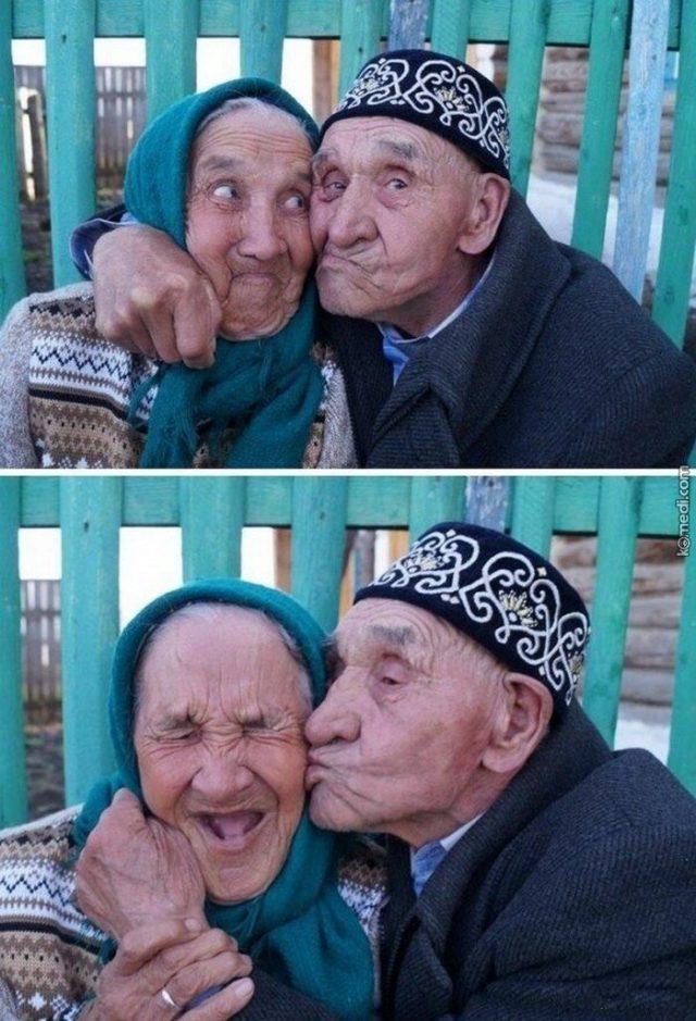 Смешные дедушки в трусах