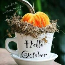Картинки «Привет, Октябрь!» (27 фото)